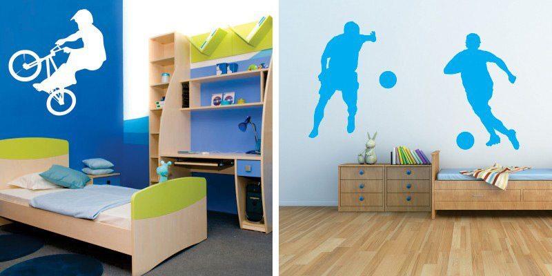 Otroške stenske nalepke - športi